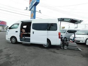 日産 NV350キャラバンバン  チェアキャブ D仕様 10人乗り 車いす4基 ナビテレビ Bカメラ ディーゼル 福祉車輌