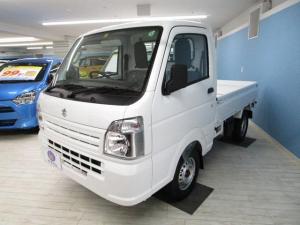スズキ キャリイトラック KCエアコン・パワステ  3方開 4WD