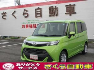 トヨタ タンク X ナビ ワンセグ Bluetooth スマートキー アイドリングストップ 片側オートスライドドア 横滑り防止システム スマートキー オートライト