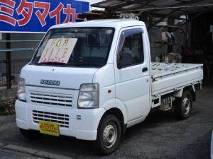 スズキ キャリイトラック KC エアコン・パワステ 3方開 4WD