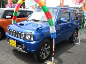 スズキ ジムニー クロスアドベンチャーXC クラリオンナビテレビ(ワンセグ) CD DVDビデオ Bluetooth シートヒーター  キーレス アルミ 4WD フロアAT 走行81000キロ