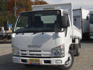 いすゞ エルフトラック 強化ダンプ 3.0トン 全低床 全塗装済み 6速ミッション 過給器設定モデル