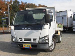 いすゞ エルフトラック 強化ダンプ 2トン強化ダンプ 全低床塗装仕上げ無し 5速ミッション