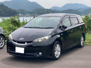 トヨタ ウィッシュ 1.8S HIDヘッドライト メモリーナビフルセグTV Bluetooth バックカメラ ETC キーレス 純正16インチアルミ タイミングチェーン