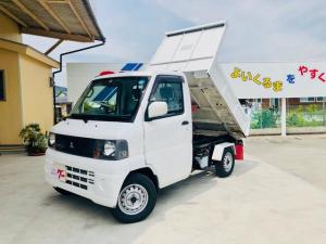 三菱 ミニキャブトラック ダンプ・4WD・マニュアル5速・パワステ