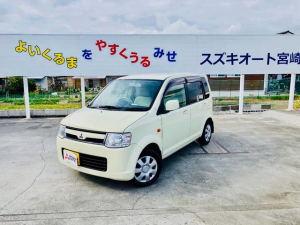三菱 eKワゴン M マニュアル5速 ワンオーナー 車検整備付き 禁煙車 ベンチシート