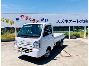 スズキ キャリイトラック KC 届出済未使用車 ギア5速 4WD パワステ エアコン 10キロ 即納車