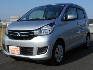 三菱 eKワゴン M e-アシスト ・衝突軽減B・CD・禁煙車・保証書・当社レンタカー