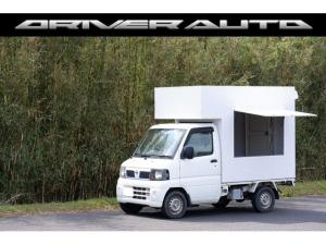 日産 クリッパートラック  キッチンカー 移動販売車 フードトラック オートマ エアコン 跳ね上げ扉 換気扇