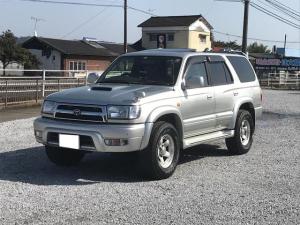 トヨタ ハイラックスサーフ SSR-G 4WD インタークーラーターボ 社外16インチアルミ サンルーフ HDDナビ DVD再生 ドライブレコーダー