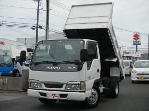 いすゞ エルフトラック 3.0tローダンプ 強化ボデー 5速ミッション 4ナンバー