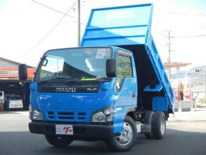 いすゞ エルフトラック  3.0tローダンプ 強化ボデー 4ナンバー 5速ミッション