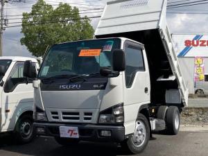 いすゞ エルフトラック 強化ダンプ ローダンプ 3t 5速MT シンメイワ 4ナンバー使用 DPD使用車 AC PS PW