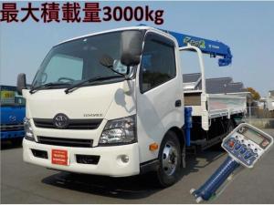 トヨタ トヨエース ワイド4段クレーンラジコン 積載3トン