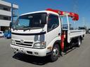 トヨタ/ダイナトラック ワイド超ロング3tクレーン4段ラジコン付同年式