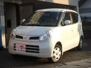 日産 モコ E インテリジェントキー オートエアコン 純正CDMDオーディオ ベンチシート Wエアバッグ ABS