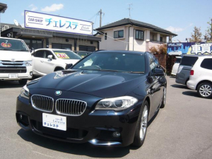 BMW 5シリーズ 523iツーリング Mスポーツパッケージ サンルーフ ナビ