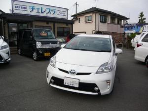 トヨタ プリウス S 社外ナビ TV ETC