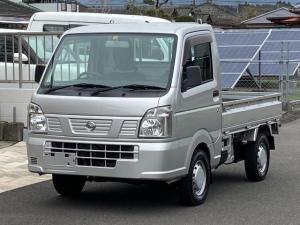 日産 NT100クリッパートラック DX 2WD エアコン パワステ オートマ車 車検整備付き 三方開