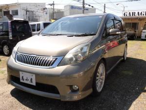 トヨタ アイシス プラタナ HDDナビ キーレス Wエアバッグ 3列シート