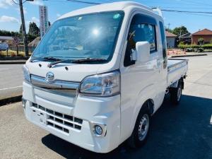 ダイハツ ハイゼットトラック ジャンボ 三方開 4WD デフロック LEDライト ETC 付属品付 5速ミッション