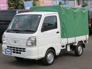 日産 NT100クリッパートラック DX 4WD 幌 オートマ車