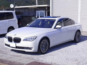 BMW 7シリーズ アクティブハイブリッド7 ナビ地デジ 革シート サンルーフ