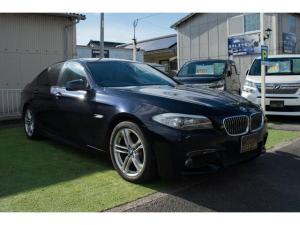 BMW 5シリーズ 523iMスポーツパッケージ 自社ローン提携 鹿児島 本革シート シートヒーター18インチアルミホイール 地デジナビ 走行中OK タペットパッキン交換済 ソレノイドバルブ交換済 輸入車整備 輸入車販売