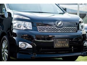 トヨタ ヴォクシー ZS 煌II 7人乗 キャプテンシート 煌き専用クロームパーツ 地デジ ナビ 車高調 250項目以上 1年 1.5万キロ保証付 Goo鑑定評価あり