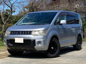 三菱 デリカD:5 C2 G パワーパッケージ 2WD ヒッチメンバー ヒッチカーゴ 7人乗り 両側パワースライドドア ナビTV バックモニター パドルシフト スマートキー バイザー プライバシーガラス 16inアルミ