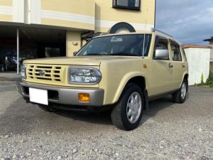 日産 ラシーン タイプII 4WD/ルーフレール/純正AW/ノーマルオリジナル/社外CDオーディオ/背面タイヤ/