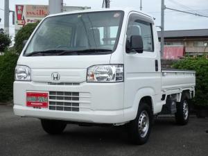 ホンダ アクティトラック  2WD 5速マニュアル エアコン パワステ エアバッグ 作業灯 荷台マット あおりカバー 3方開