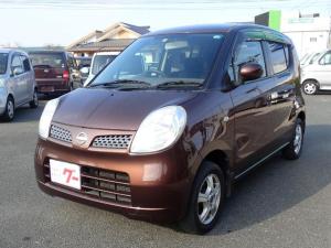 日産 モコ E ショコラティエ インテリジェントキー アルミ 電動格納ミラー オートエアコン CD