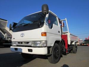 トヨタ ダイナトラック  4WD 3t3段クレーン付き 標準ロング
