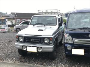 スズキ ジムニー ランドベンチャー 4WD 16インチアルミ ルーフキャリア