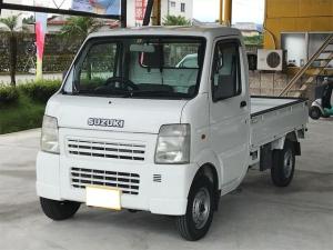 スズキ キャリイトラック KCエアコン・パワステ 4WD 5速マニュアル車 三方開
