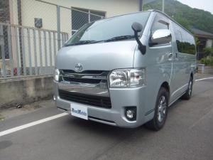 トヨタ ハイエースバン メモリーナビ フルセグTV バックカメラ 100V電源 AW