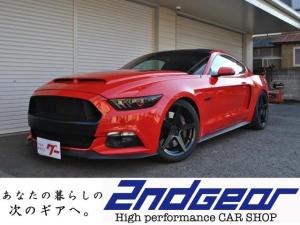 フォード マスタング V8 GTパフォーマンスPKG 6MT 実走行 カスタム