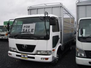 日産ディーゼル ベースグレード UDトラック 4.15tベース 家畜運搬車 幌付き 6速マニュアル