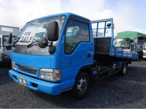 いすゞ エルフトラック 3t セルフローダー 産業車両用 6速マニュアル