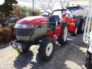 日本その他 日本 ヤンマー トラクター AF18 4WD 純正ロータリー