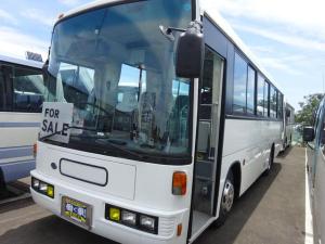 日産ディーゼル ベースグレード スペースランナー 大型観光バス 41人乗り 6速マニュアル ターボ 自動扉 両棚付 ミクニヒーター