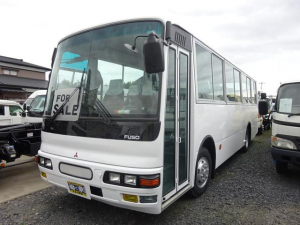 三菱ふそう ベースグレード エアロミディ バス 46人乗り 4WD リアエンジン バックカメラ