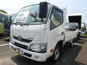 トヨタ ダイナトラック ロングシングルジャストロー 1.2t 平ボディー 4WD オートマ エアバック