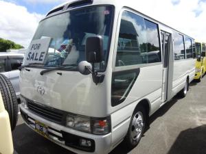 トヨタ コースター  福祉車輛 リフト付き 13人乗り 車いす6台 座席7席 補助いす3席取り外し可 バックカメラ 自動扉