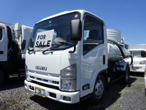 いすゞ エルフトラック  3t バキュームカー 6速マニュアル ターボ 衛生車 キーレス モリタエコノス 新品DS型脱臭器