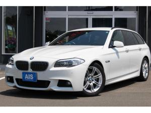 BMW 5シリーズ 528iツーリング Mスポーツパッケージ REMUSマフラー 純正18AW