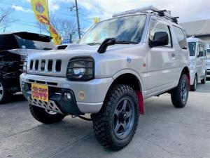 スズキ ジムニー XC 4WDインタークーラーターボ純正ショックサス有マッドテレーン&社外アルミリフトアップFアンダー&デフカバー