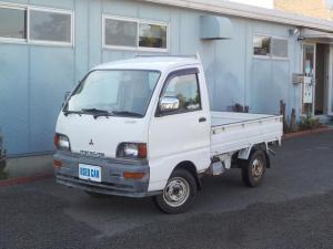 三菱 ミニキャブトラック 4WD三方開 パワーステアリング付き