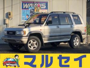いすゞ ビッグホーン LS ロング 4WD 3,100cc ディーゼル ターボ 7人乗り 3ナンバーワイドボディー グー鑑定 iD車両